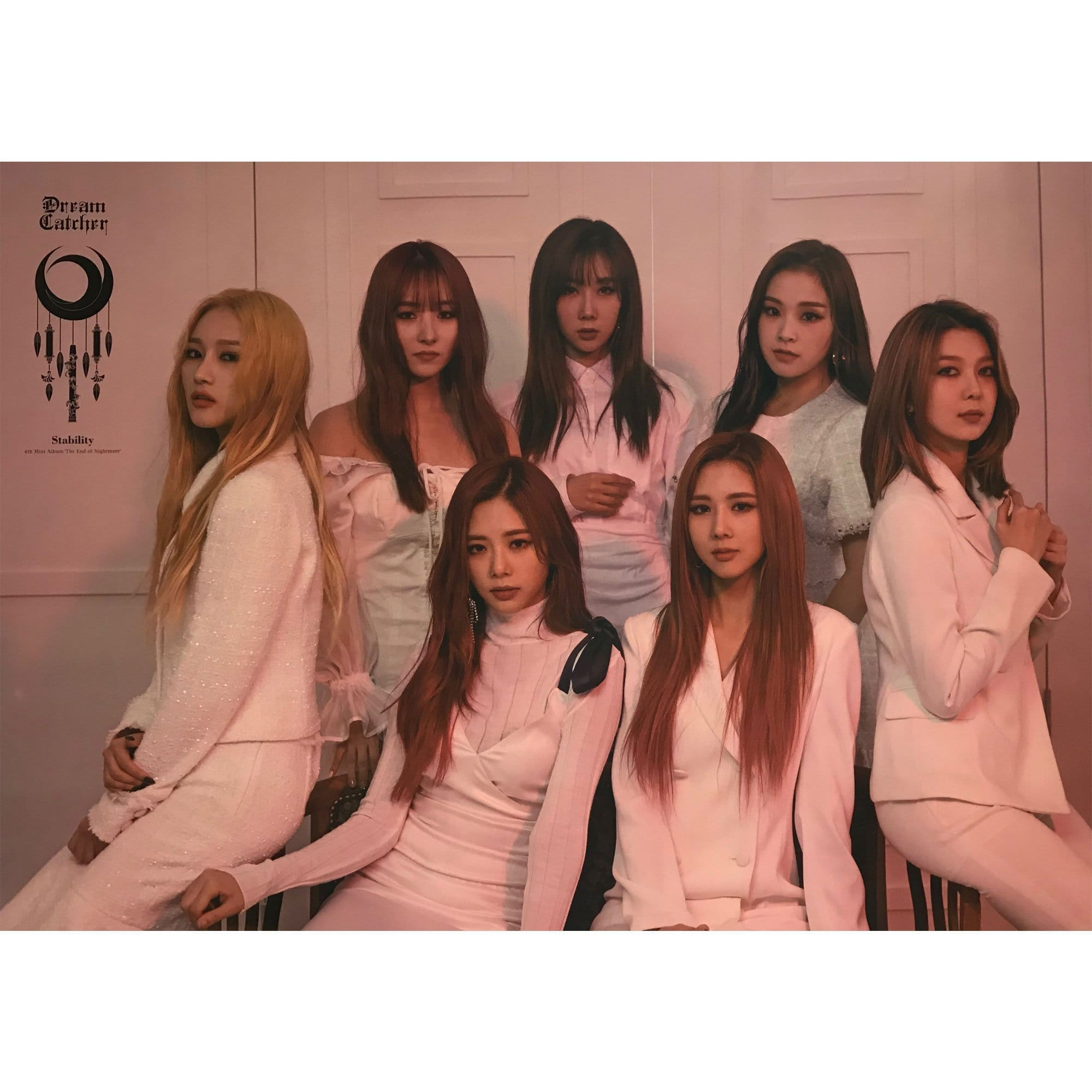 드림캐쳐 | Dream  catcher | 4th mini - THE END OF NIGHTMARE  (Instability ver. / Stability ver.) | Poster