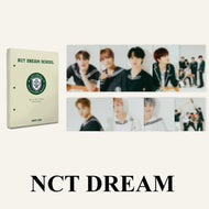 NCT DREAM 2021 BSK HARD COVER POSTCARD BOOK