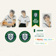 NCT DREAM 2021 BSK LUGGAGE STICKER+PHOTO CARD SET