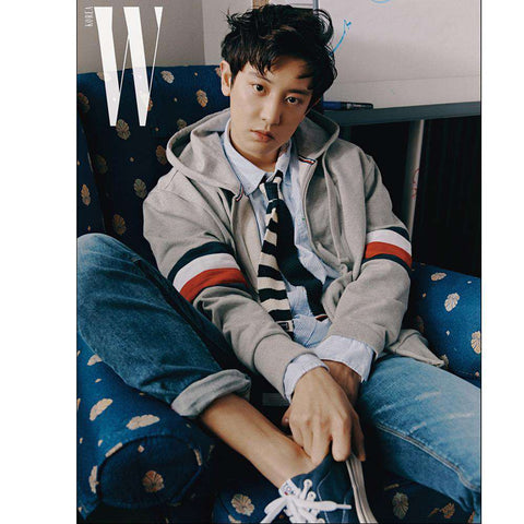 더블유 W [ 2019-4 ] KOREA MAGAZINE | CHANYEOL, CHA EUNWOO