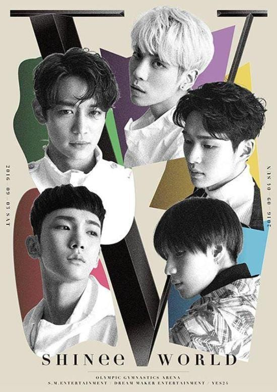 샤이니 | SHINee | SHINee World V in Seoul | POSTER ONLY