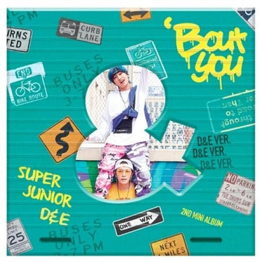 Super Junior D&E 2nd Mini Album [ Bout You ] Donghae & Eunhyuk