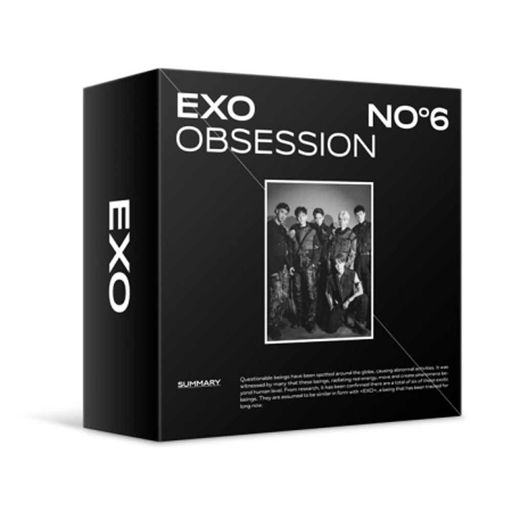 엑소 | EXO 6TH ALBUM [ OBSESSION ] KIT ALBUM