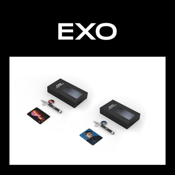 엑소 | EXO [ PHOTO PROJECTION KEYRING+PHOTO CARD ] EXO VER.