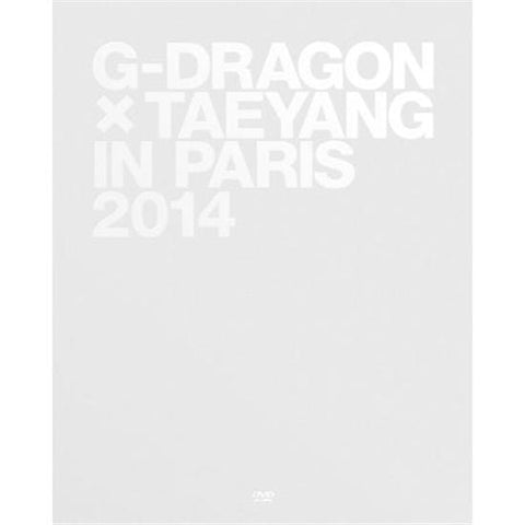 G-Dragon  X Taeyang | 지드래곤 X 태양 | IN PARIS 2014