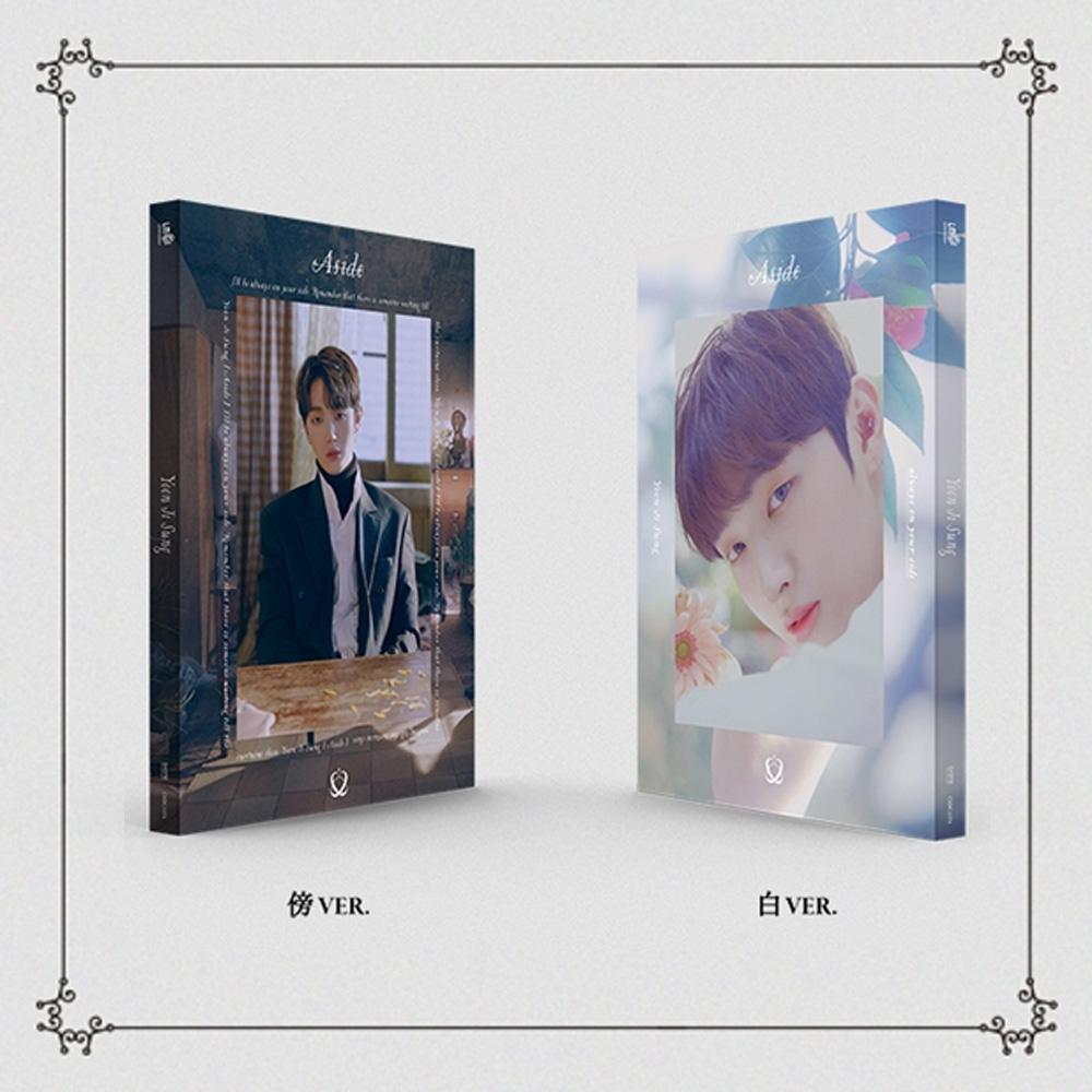 MUSIC PLAZA CD BANG VER. 윤지성 | YOON JI SUNG 1ST MINI ALBUM [ ASIDE ]