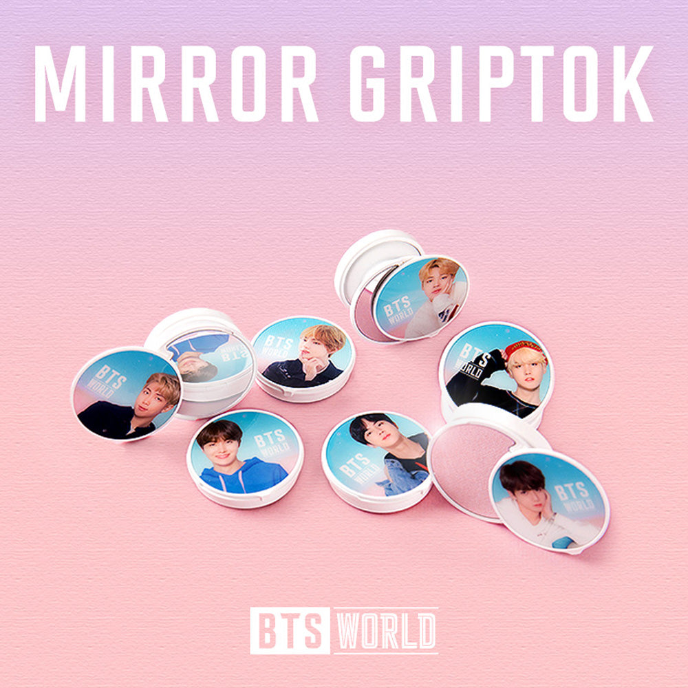 BTS WORLD MIRROR GRIPTOK | OFFICIAL MD