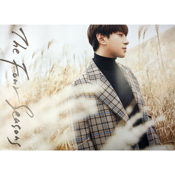황치열 | HWANG CHI YEUL | 2nd album- THE FOUR SEASONS | poster
