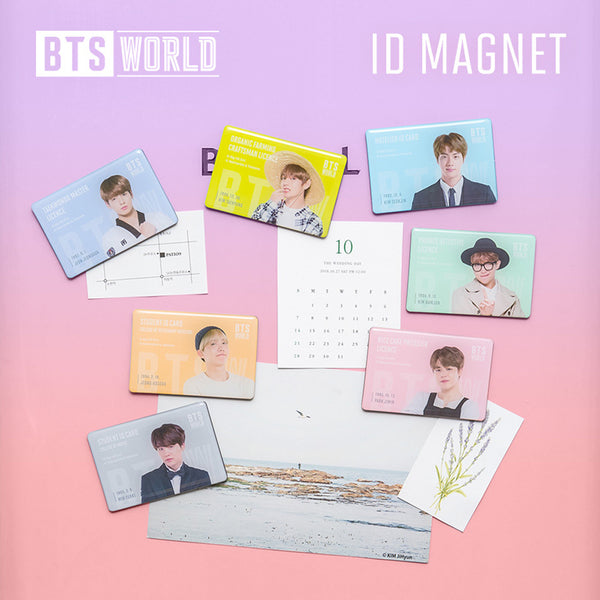 BTS WORLD ID MAGNET | OFFICIAL MD