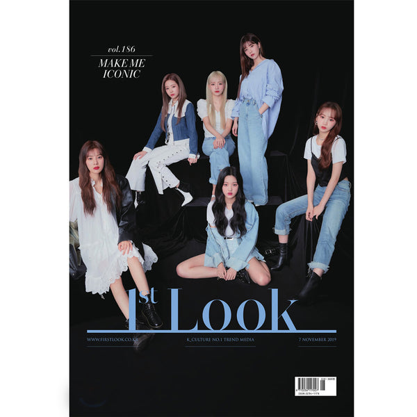 1ST LOOK 186 [ IZ* ONE, GOLDEN CHILD ]