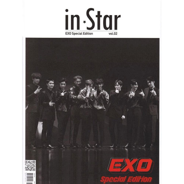 IN STAR 2018-12 [ EXO SPECIAL EDITION ] KOREA MAGAZINE