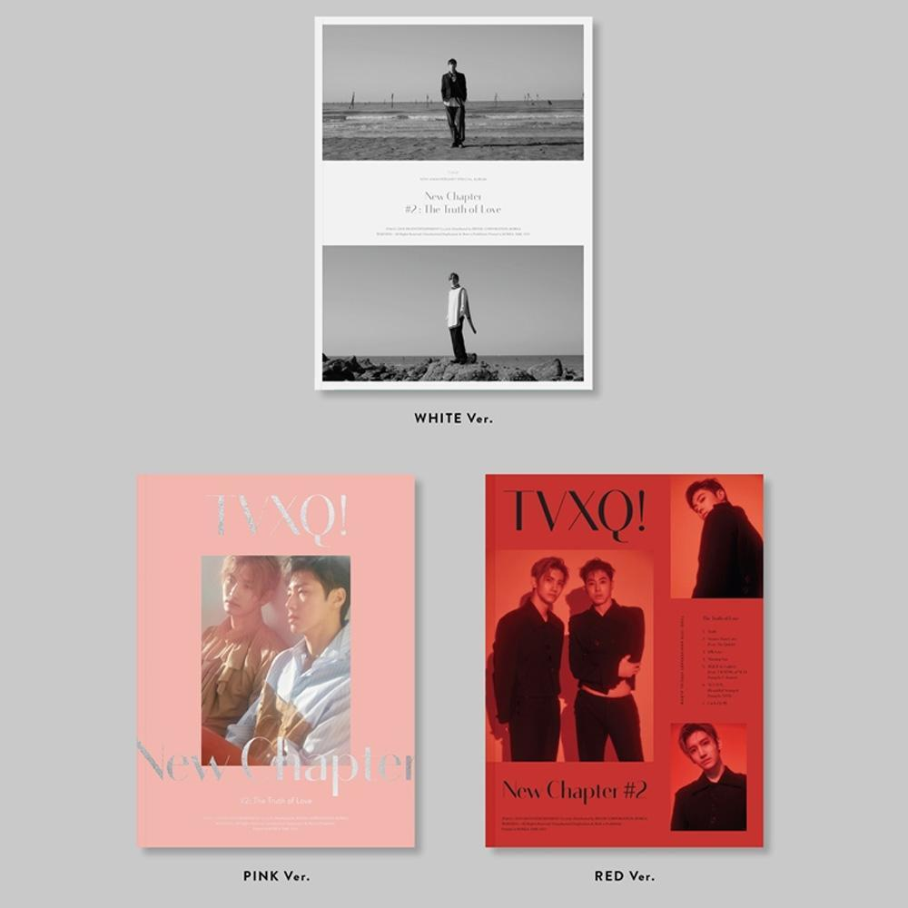 MUSIC PLAZA CD WHITE 동방신기 | TVXQ [ NEW CHAPTER #2: THE TRUTH OF LOVE ] 15th ANNIVERSARY SPECIAL ALBUM