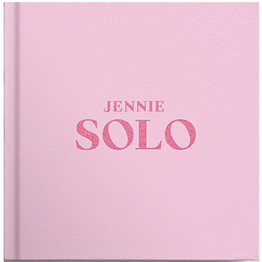 MUSIC PLAZA CD CD ONLY JENNIE [ SOLO ] PHOTOBOOK | MEMBER OF BLACKPINK