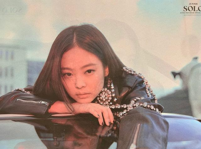 MUSIC PLAZA Poster JENNIE | 제니 |  SOLO SPECIAL EDITION ( DOUBLE-SIDED) | POSTER