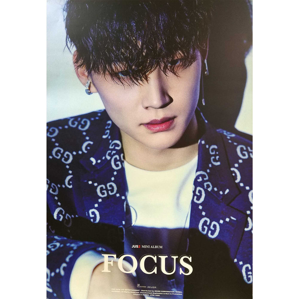 Jus2 | Mini Album Focus Official Poster (JB) | Poster Only