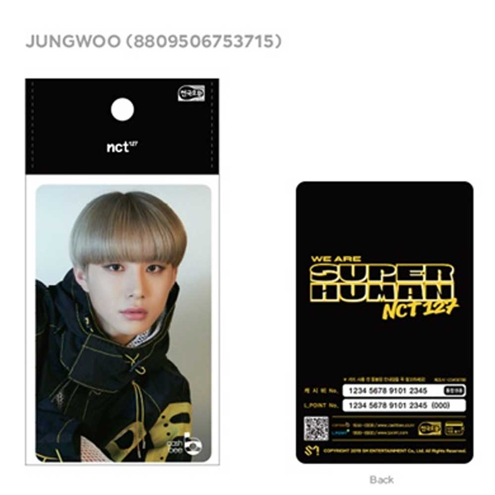 NCT 127 [ JUNGWOO ] KOREA TRAFFIC CARD * CASHBEE