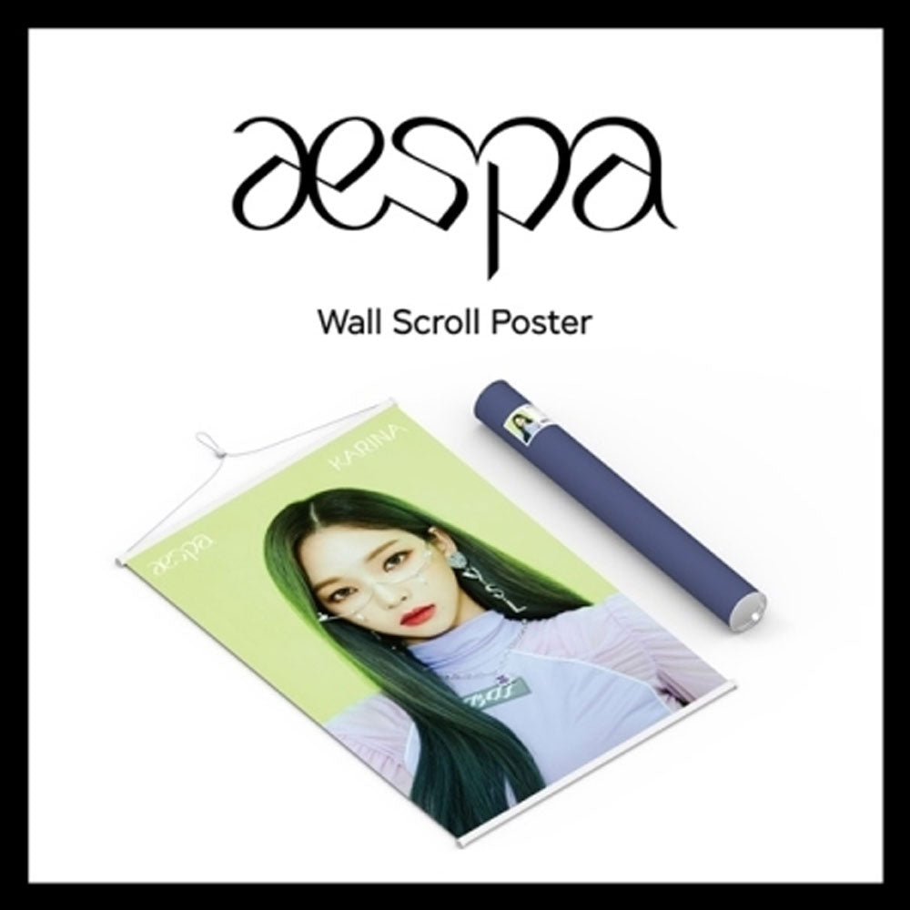 에스파 | AESPA WALL SCROLL POSTER