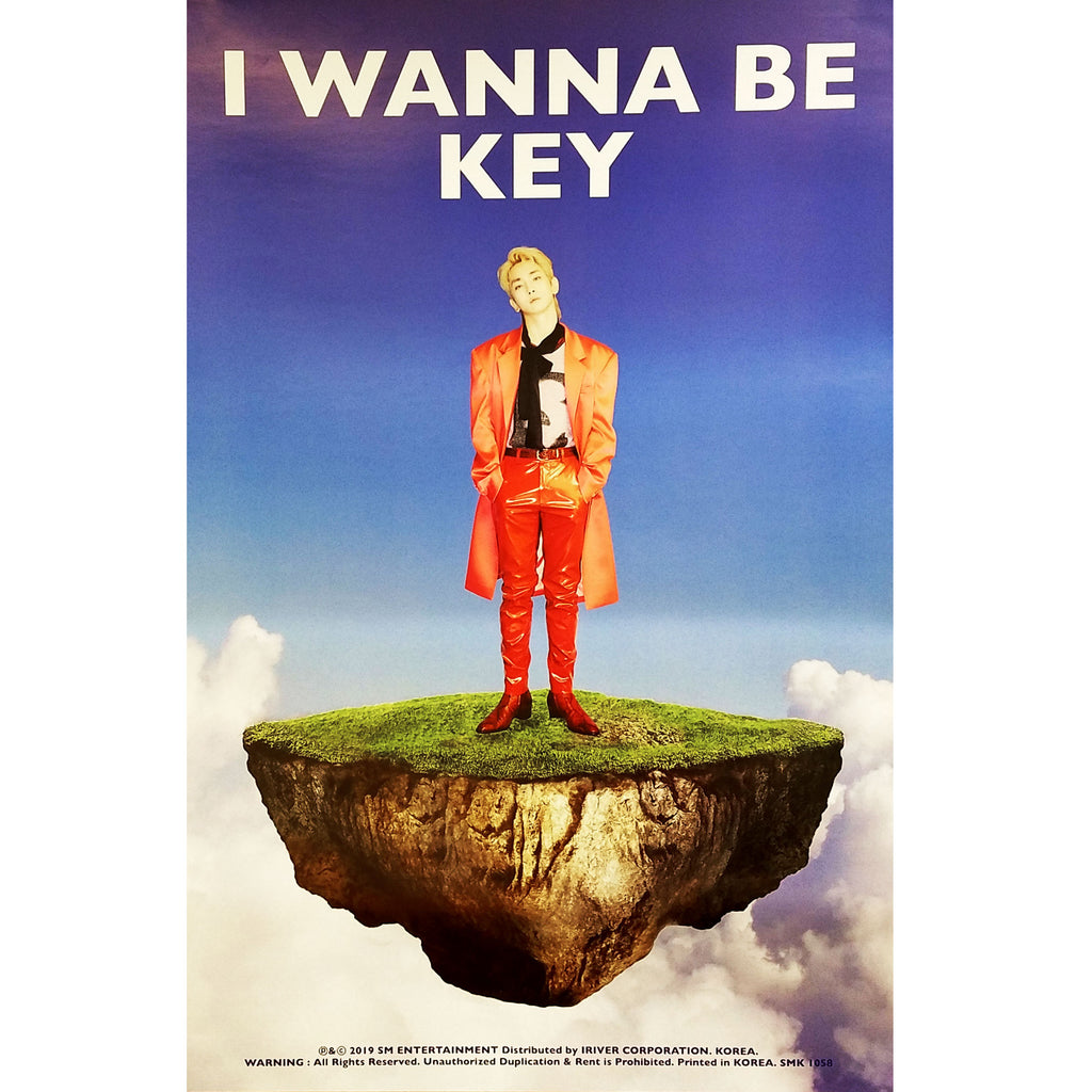 키 | KEY | I Wanna Be |  POSTER Only