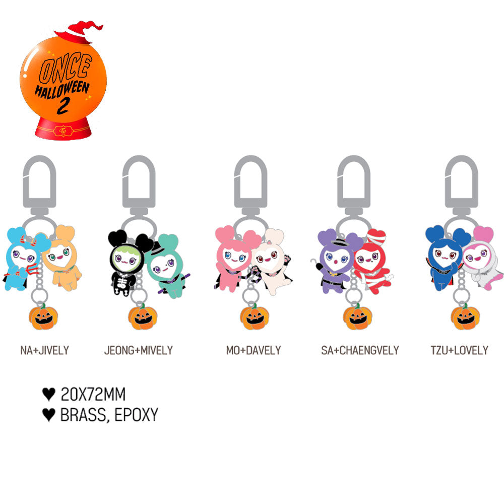 TWICE LOVELY MINI KEYRING [ FANMEETING ONCE HALLOWEEN 2 ]
