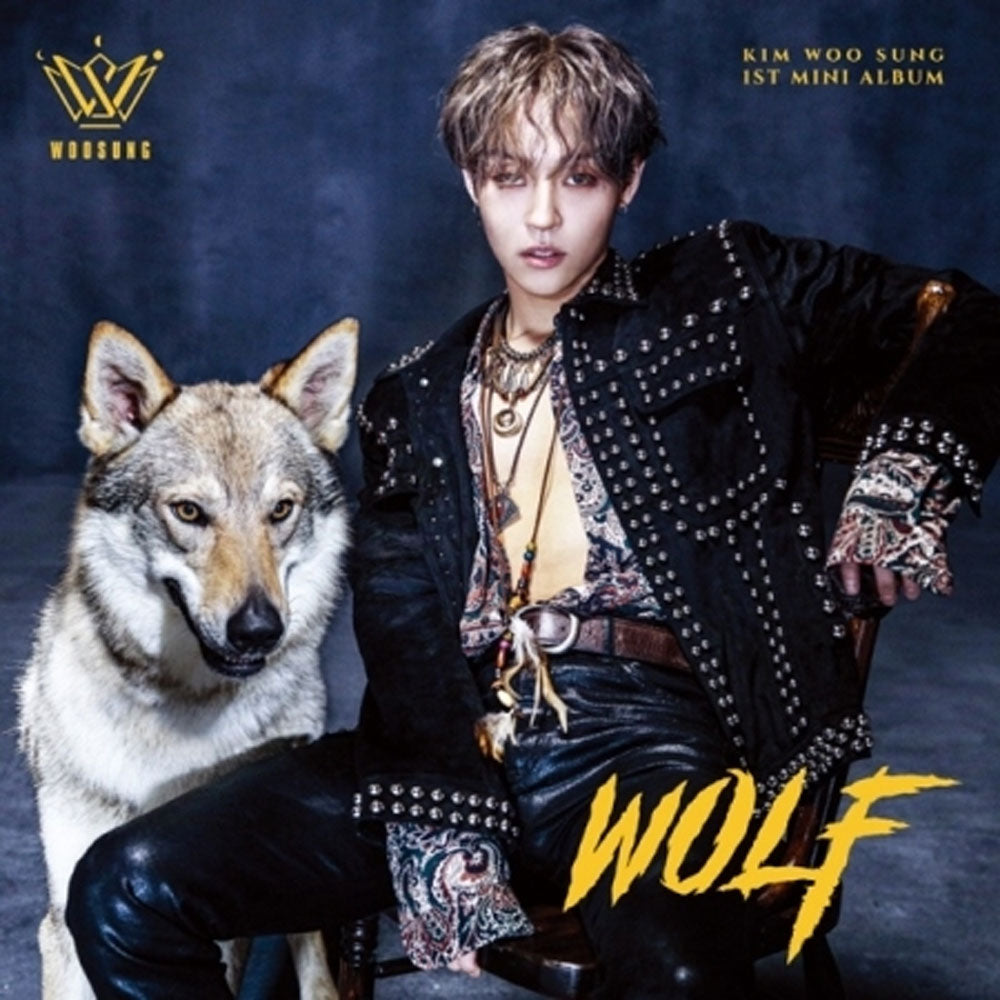 KIM WOO SUNG 1ST MINI ALBUM [ WOLF ]