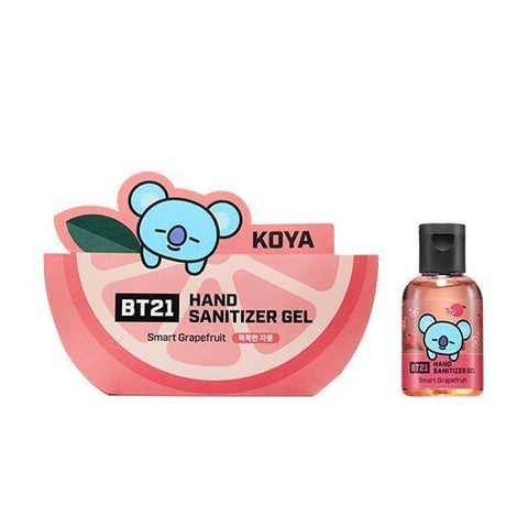 BT21 Hand Sanitizer Gel [ Koya ] Smart Grapefruit