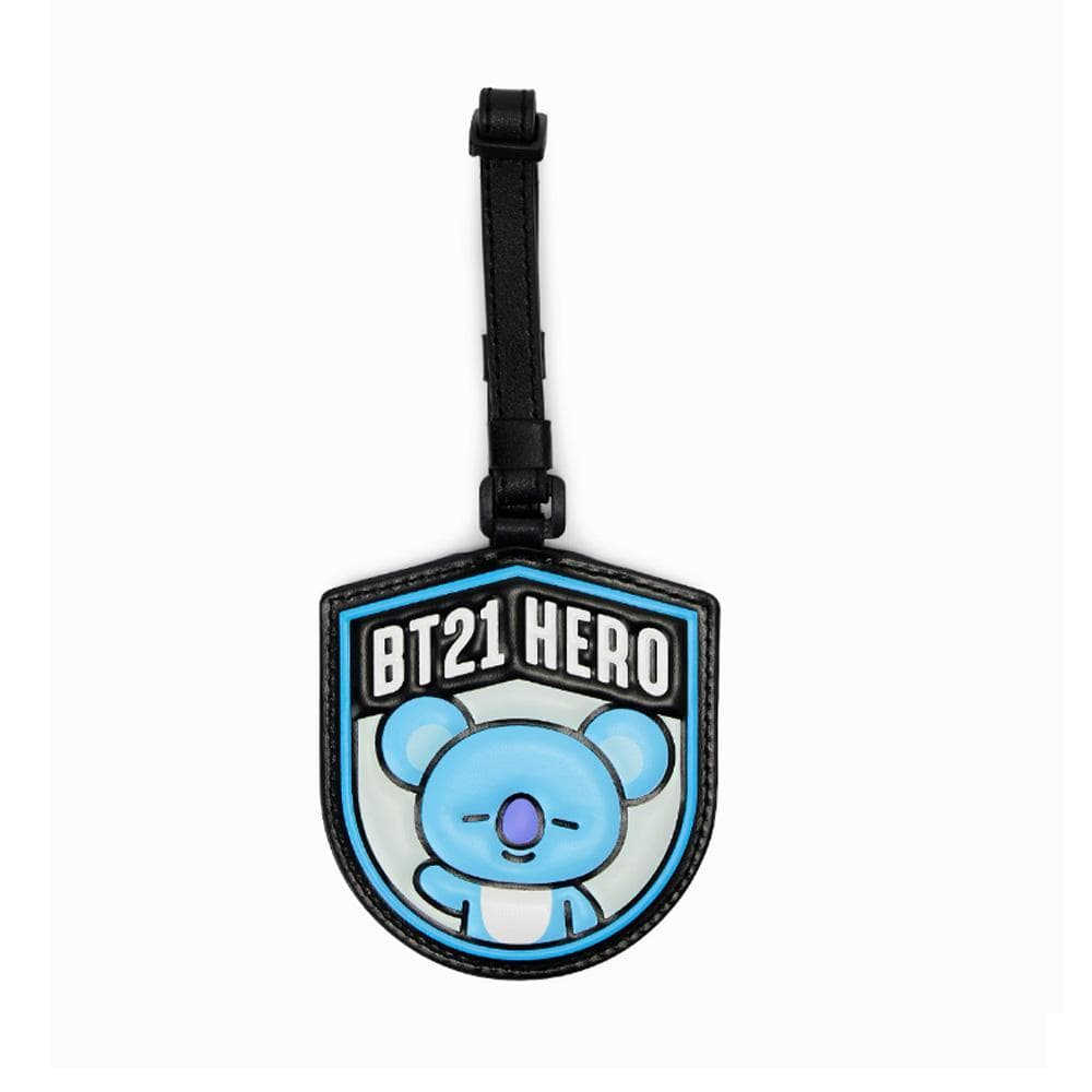 BT21 OFFICIAL GOODS [ WAPPEN NAME TAG- LUGGAGE TAG ]