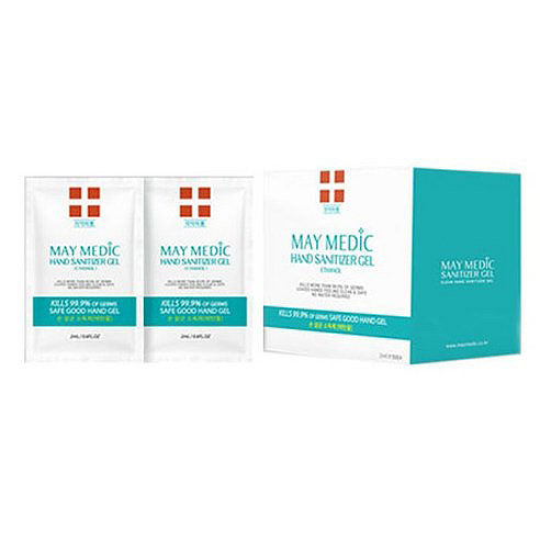 MAY MEDIC Hand Sanitizer Gel [Ethanol] (2ml/50 pouches)