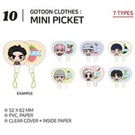 GOT7 [ MINI PICKET ] GOTOON by GOT7 SUMMER STORE
