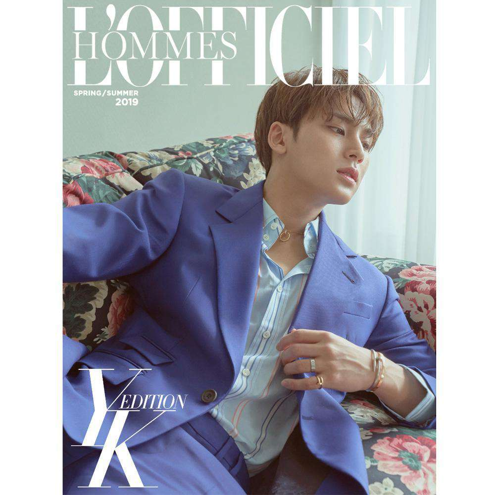 MUSIC PLAZA Magazine A 로피시엘 옴므 | L'OFFICIEL HOMMES YK EDITION [ COVER- MINKYU / SEVENTEEN ]