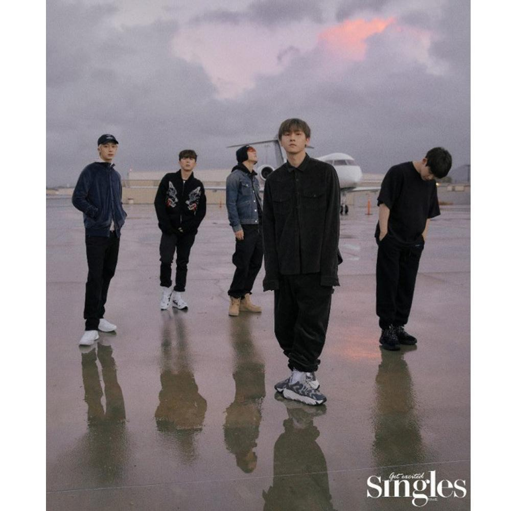 싱글즈 | SINGLES 2019-1 | MONSTA X - STORY | 12 pages KOREA MAGAZINE