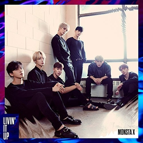 MONSTA X / LIVIN' IT UP / B VER.
