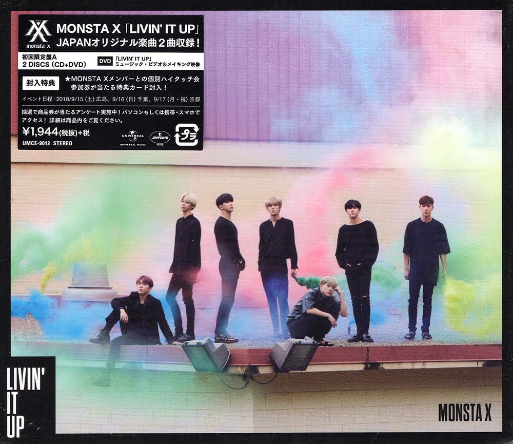 MONSTA X / LIVIN' IT UP / A VER.