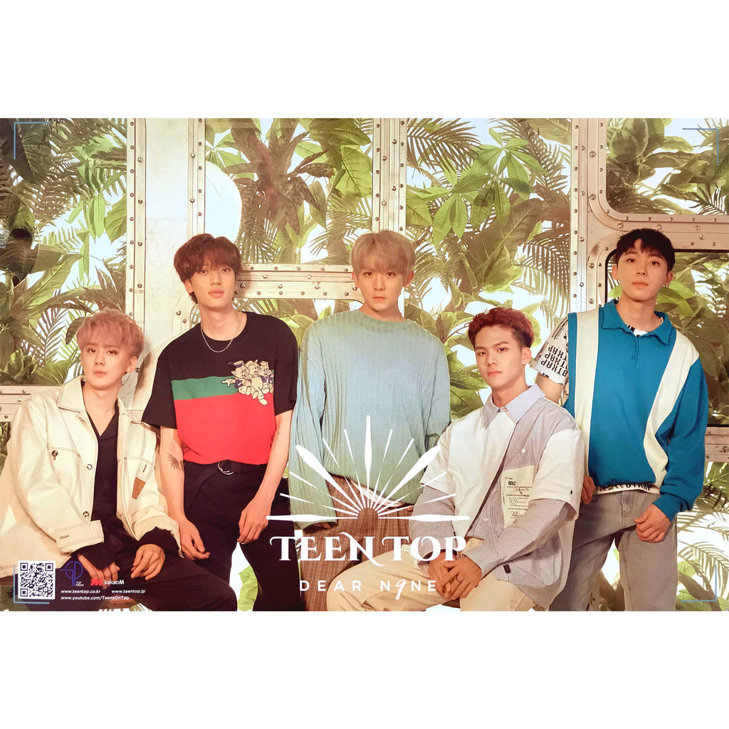 틴탑 | TEEN TOP | 9TH MINI ALBUM | ONLY POSTER