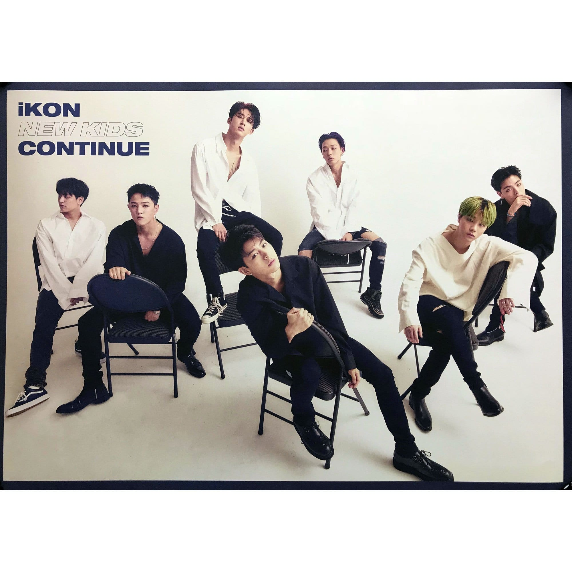 아이콘 | ikon | New kids continue | POSTER