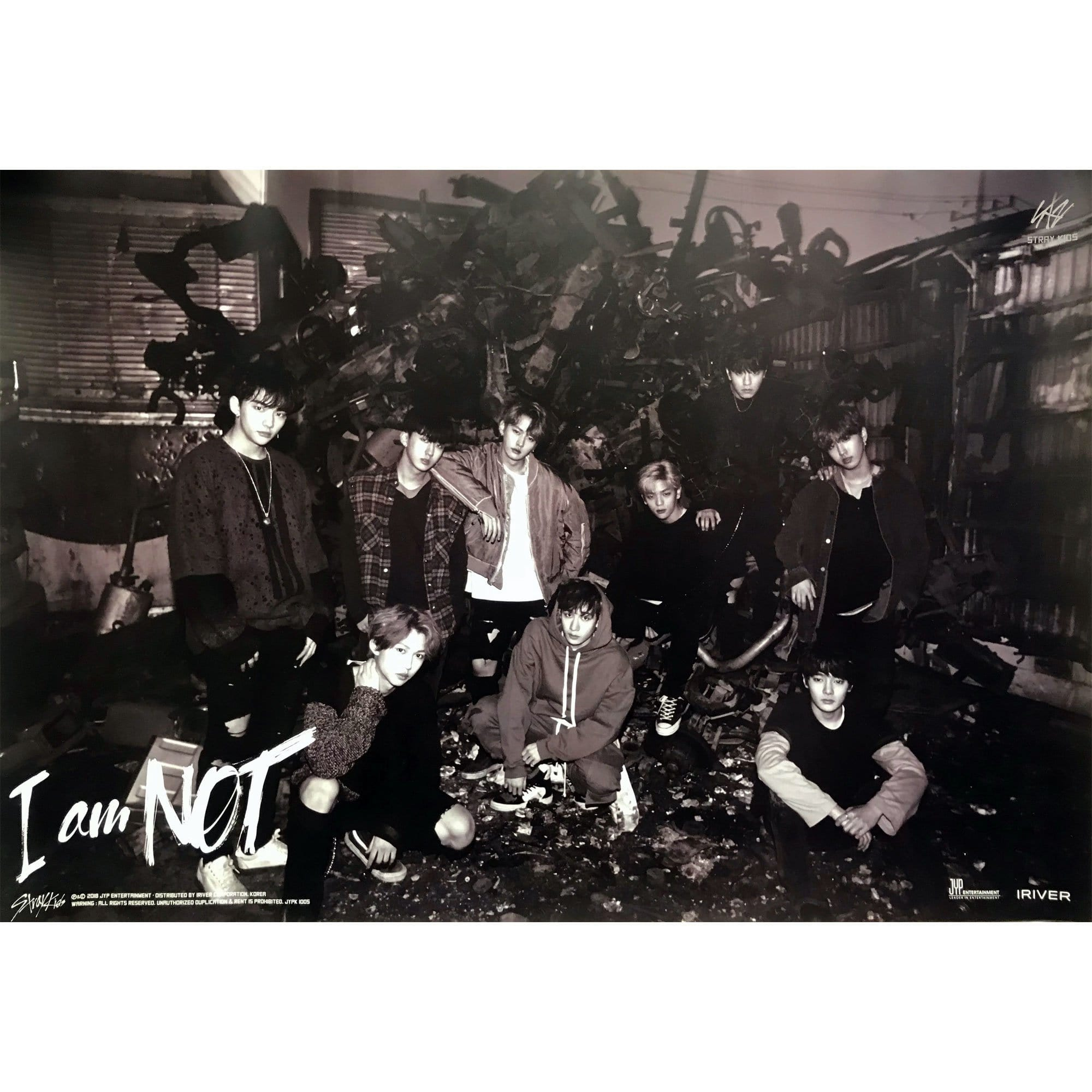 Stray kids | I AM NOT | POSTER