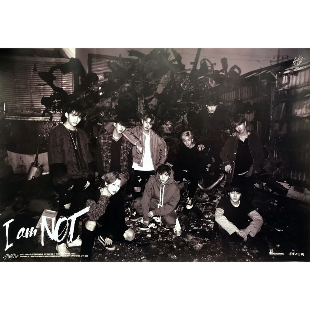 스트레이키즈 | Stray kids | I AM NOT | POSTER