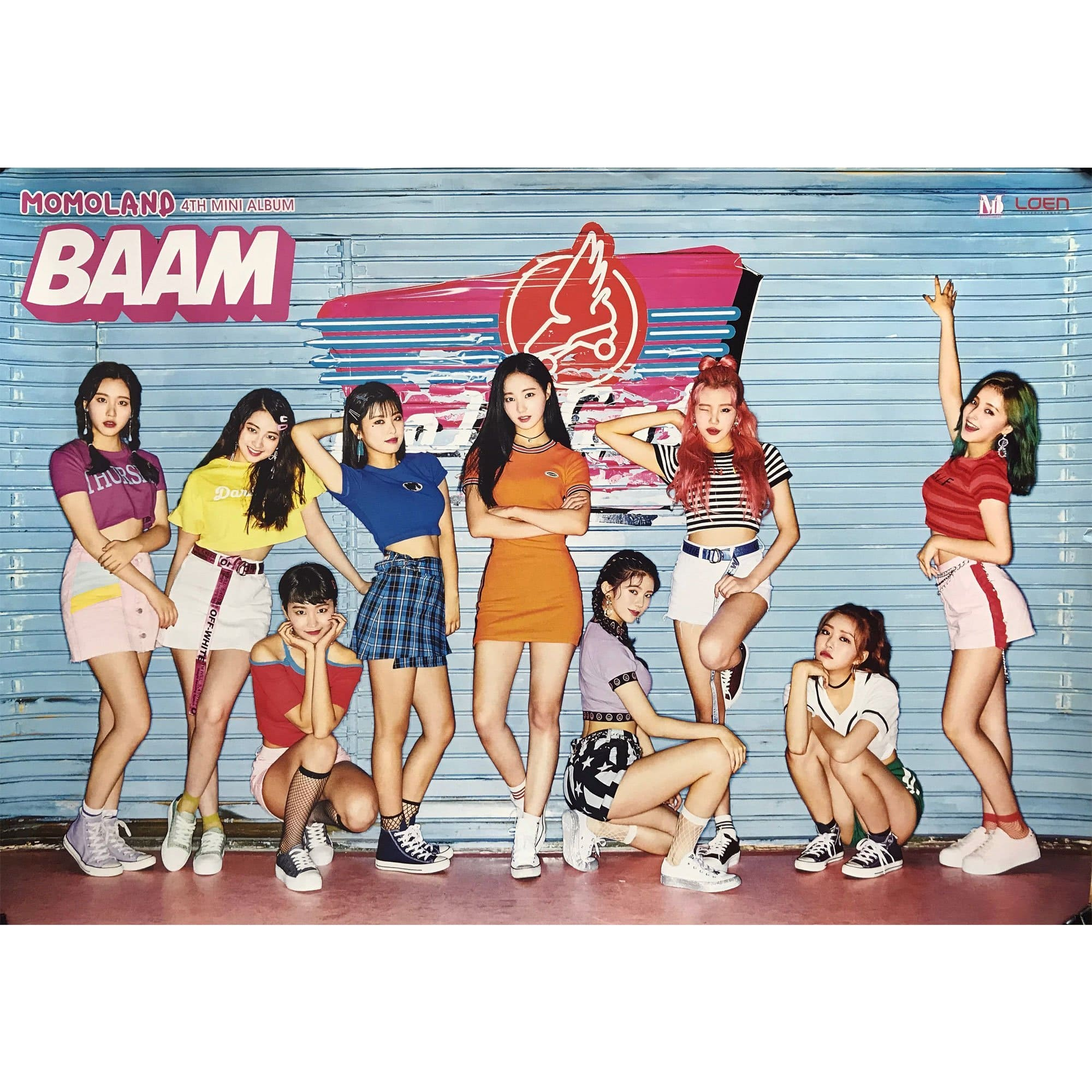 MOMOLAND | 4th mini album BAAM | POSTER