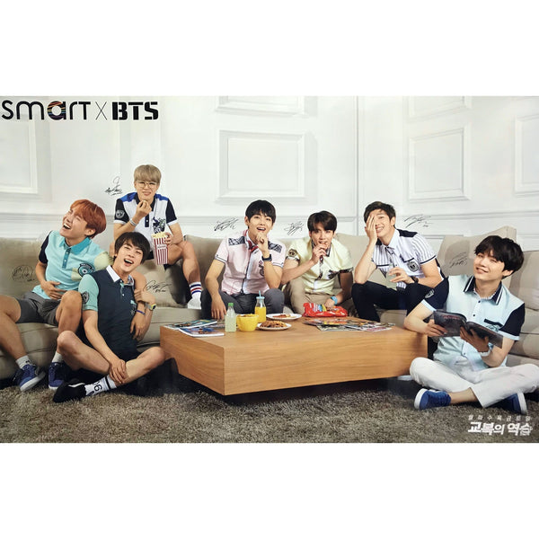 MUSIC PLAZA Poster A version BTS | 방탄소년단 | Smart X | POSTER