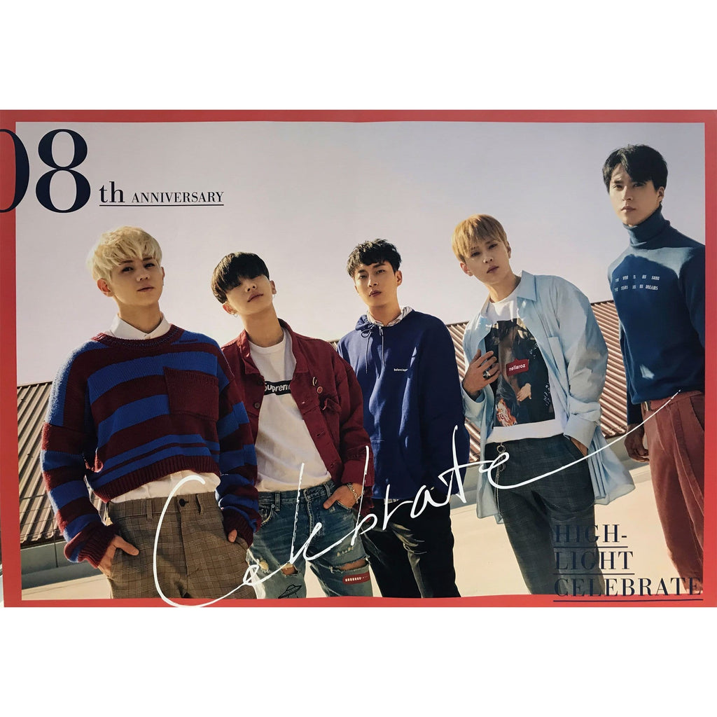 하이라이트 | 비스트 | HIGHLIGHT |  beast | CELEBRATE | POSTER