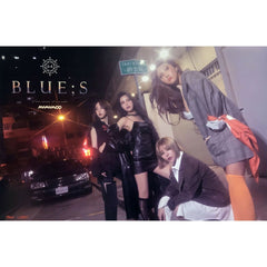 마마무 | MAMAMOO | 8th mini album - BLUE;S | POSTER