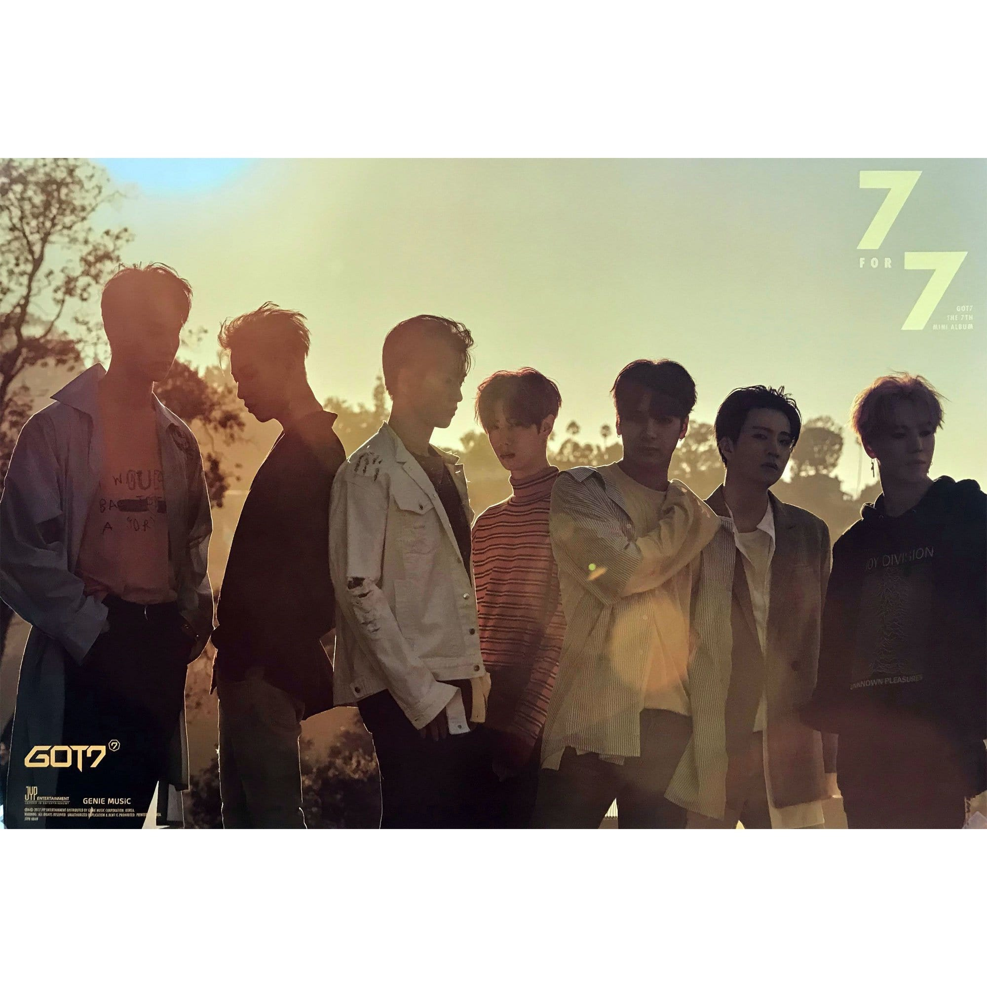 갓세븐 | GOT7 | 7TH MINI ALBUM - 7FOR7 | POSTER