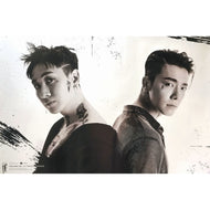 동해&은혁 | 슈퍼주니어 | SUPER JUNIOR | D&E - DANGER | ONLY POSTER