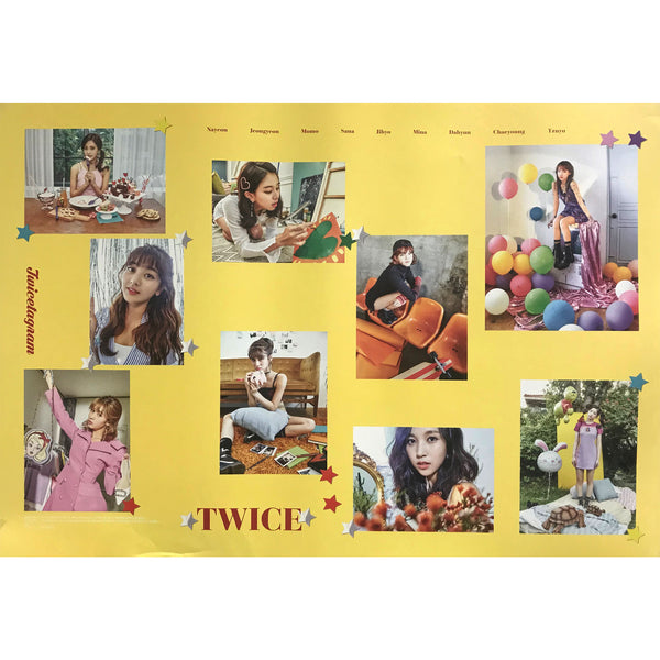 TWICETAGRAM-YELLOW COLOR | POSTER
