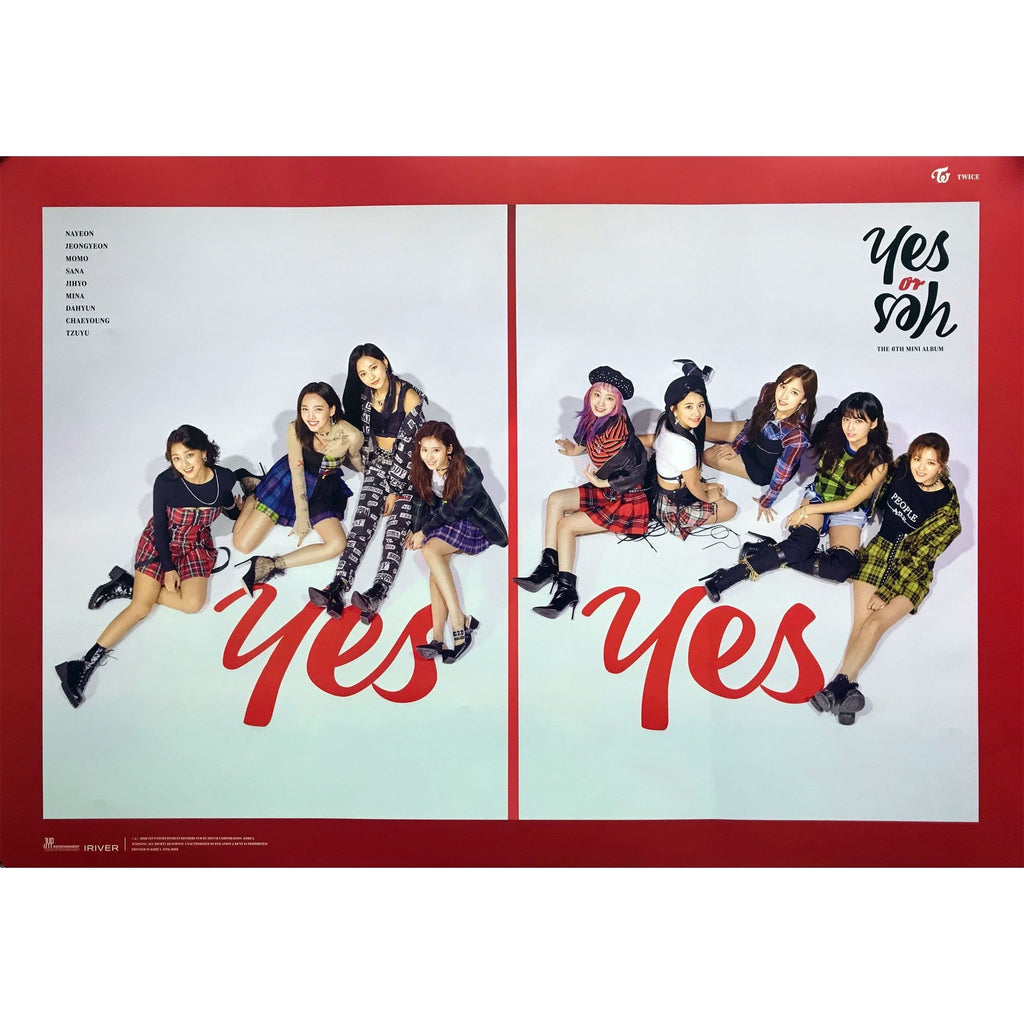 Twice 6th mini Album Yes or Yes Mina B Photo Card official