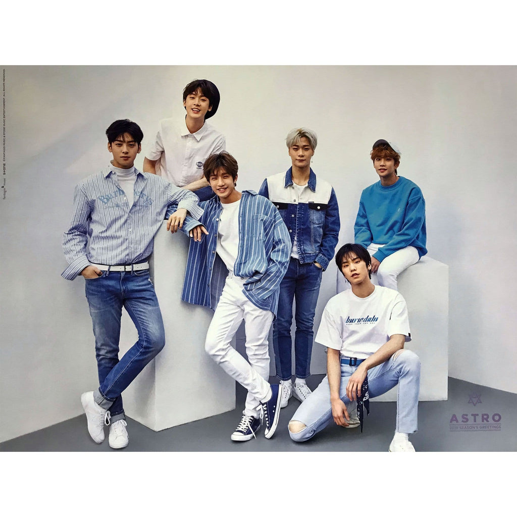 MUSIC PLAZA Poster A 아스트로 | ASTRO | 2019 Season's Greetings | POSTER