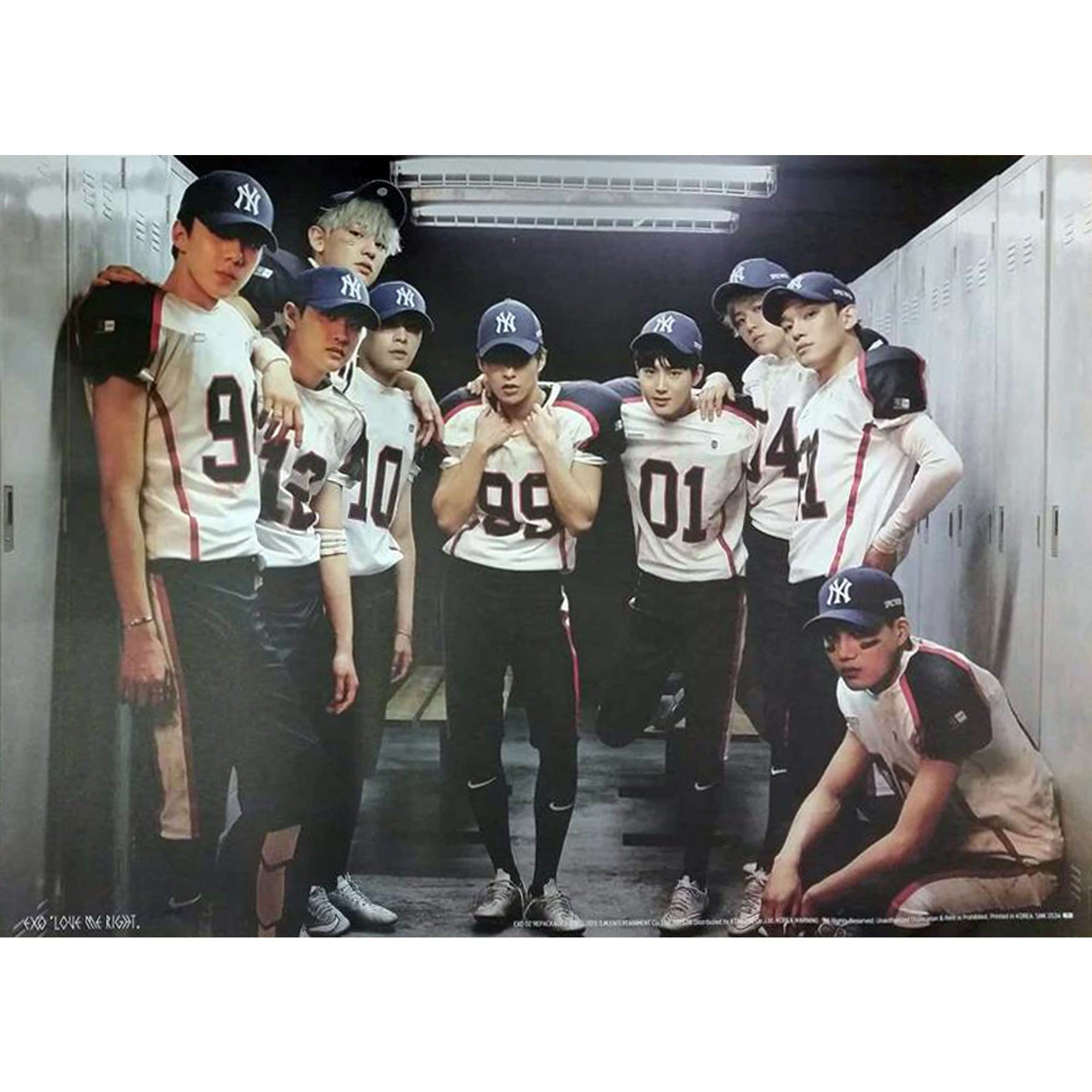 EXO | 엑소 | LOVE ME RIGHT | POSTER