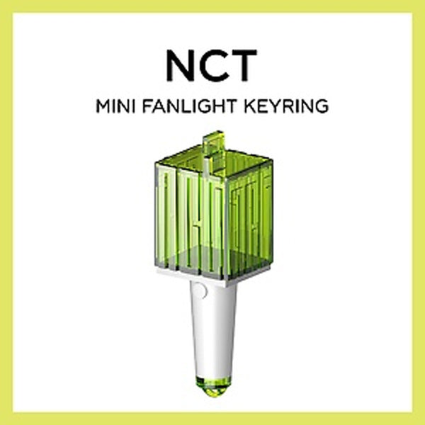 NCT MINI FANLIGHT KEYRING