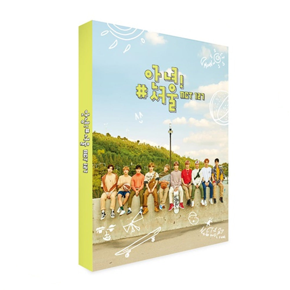 NCT 127 [ 안녕! #서울 ] PHOTOBOOK+DVD+PHOTOCARD SET
