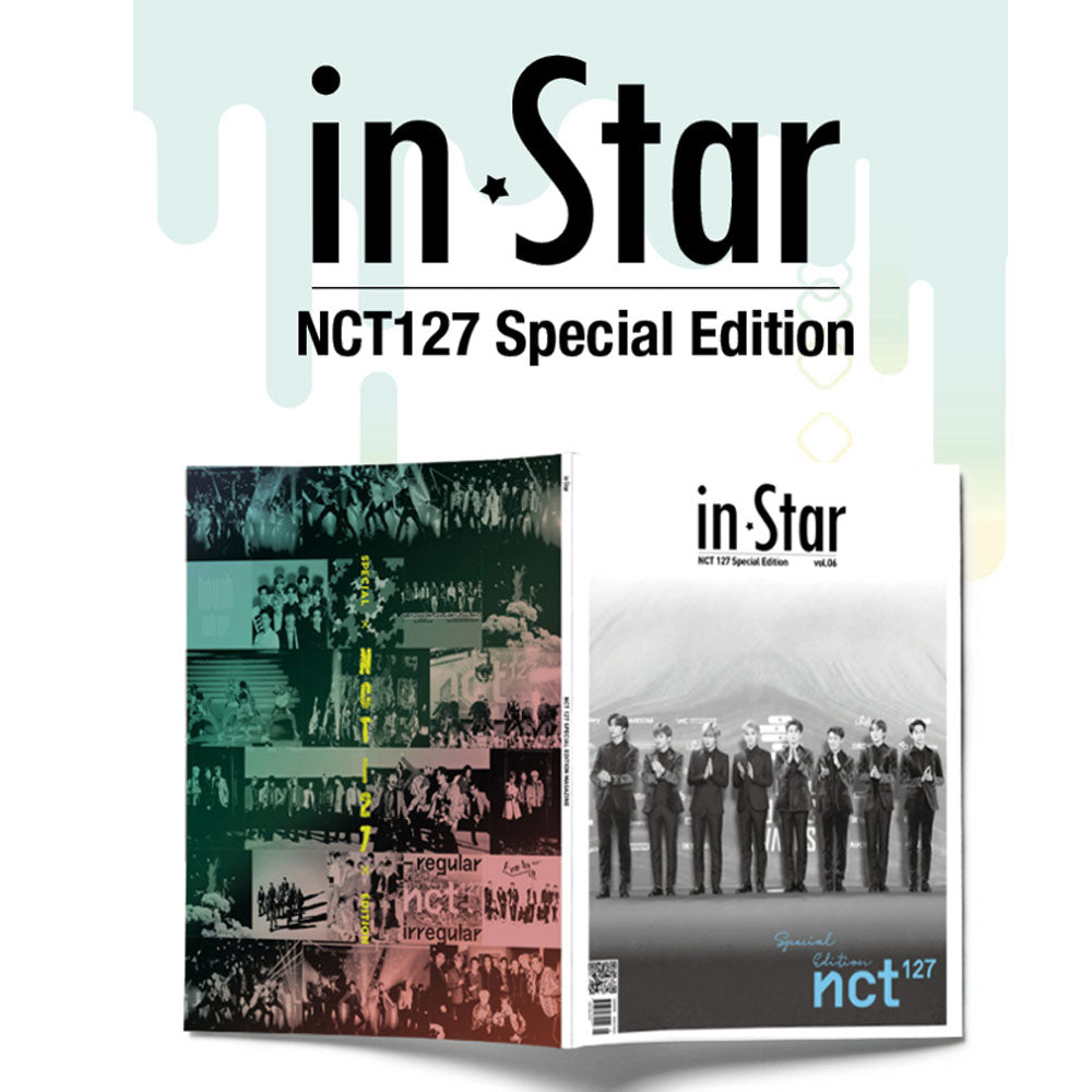 인스타 IN STAR 2019-7 [ NCT 127 SPECIAL EDITION ] KOREA MAGAZINE