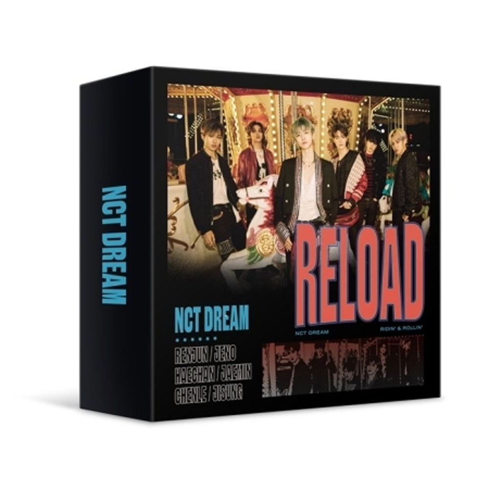 NCT DREAM MINI ALBUM [ RELOAD  ] KIT ALBUM RE-PRINT